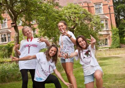T-shirt maken tijdens Summer School