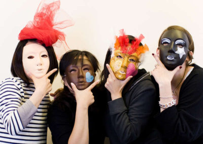 Masker maken activiteit
