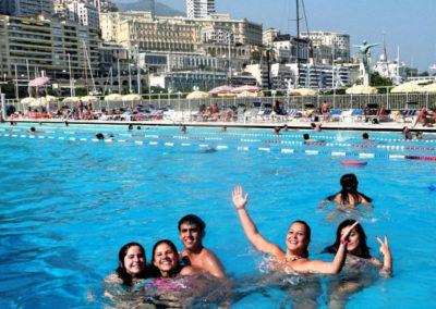 Zwembad haven Monaco