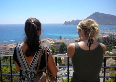 Uitzicht over Alicante