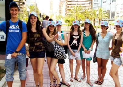 Samen met jongeren Alicante
