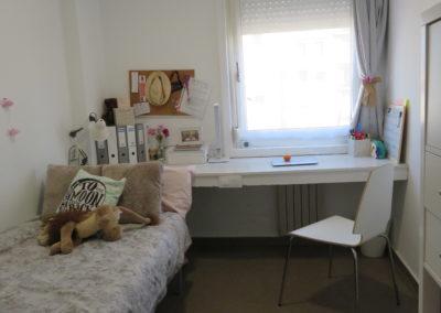 Voorbeeld kamer residentie Valencia