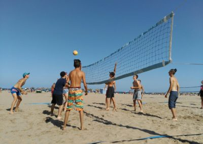 Beachvolleybal Valencia Summer School