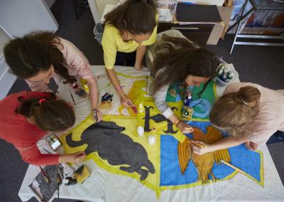 Samen creatief werken