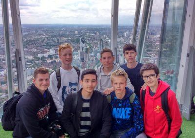 Excursie Londen Summer SChool Folkestone
