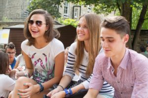 Internationale jongeren Cambridge