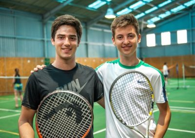 Summer School met Tennis