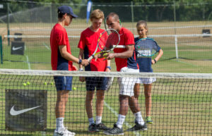 Tennissen tenniskamp