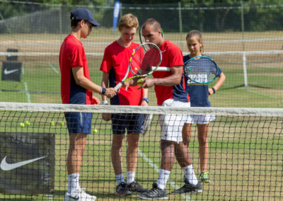 Tenniskamp Lancing College Engeland