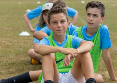 Voetbalkamp internationale jongeren