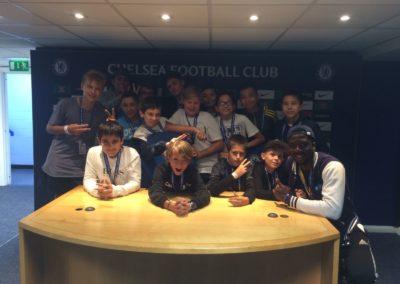 Excursie Chelsea Football club