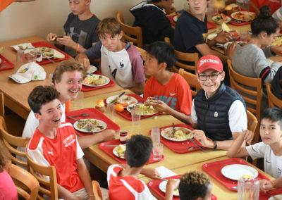 Diner Voetbalkamp