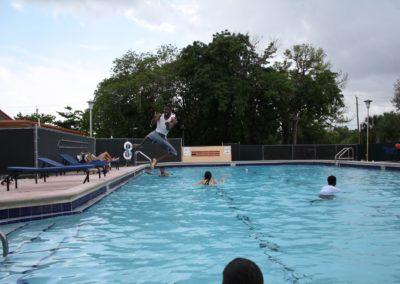 Zwembad Summer School Miami