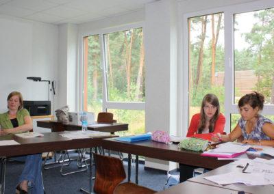 Klaslokaal Summer School Berlijn