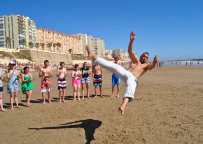 Activiteit op het strand