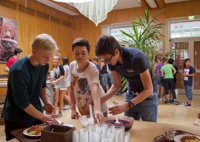 Samen eten Summer School BErlijn