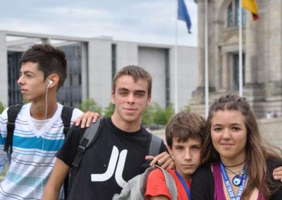 Op excursie Summer School Berlijn