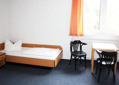 Slaapkamer op de campus