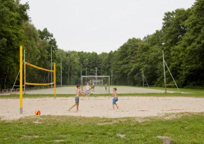 Volleyball op de campus