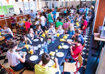 Maaltijd Summer School Belgie