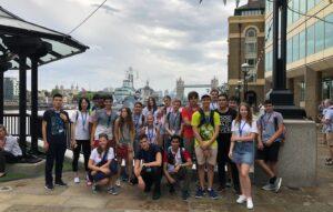 Op excursie in Londen